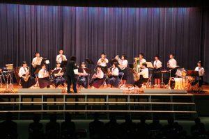 吹奏楽部演奏の写真