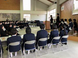 立会演説会の写真