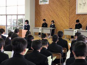生徒総会の写真1