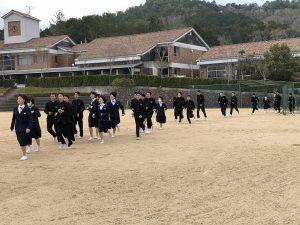 避難訓練の写真