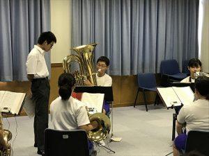 吹奏楽部練習風景