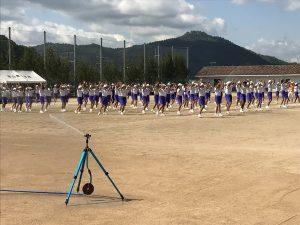 体育祭の練習