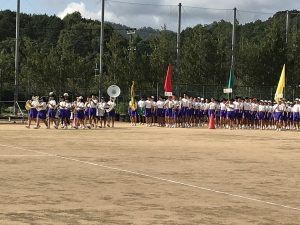 体育祭予行演習