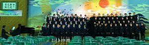 文化祭全校合唱