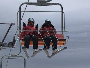 スキー実習リフト